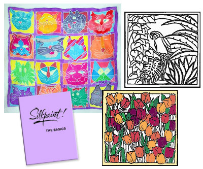 Silkpaint! Pattern Design Pack, Booklets and more